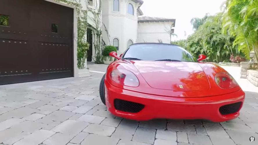 See John Cena Geek Out Over His Ferrari Dream Car