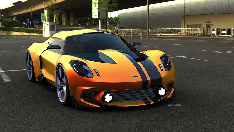 2020 Lotus Elise Render Begs To Be Noticed By New Owner Geely