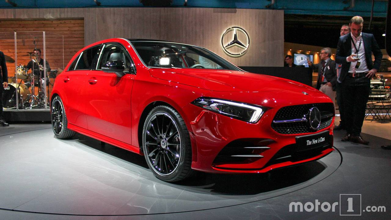 mercedes amg a35 sedan spied before going on sale in us. Black Bedroom Furniture Sets. Home Design Ideas