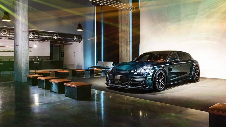 Techart Porsche Panamera Sport Turismo 639 bg gücünde