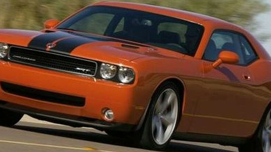 Leaked: Dodge Challenger SRT8