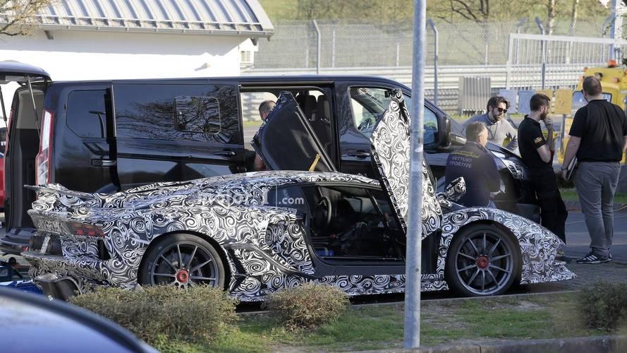 Lamborghini Aventador Superveloce Jota new spy photos