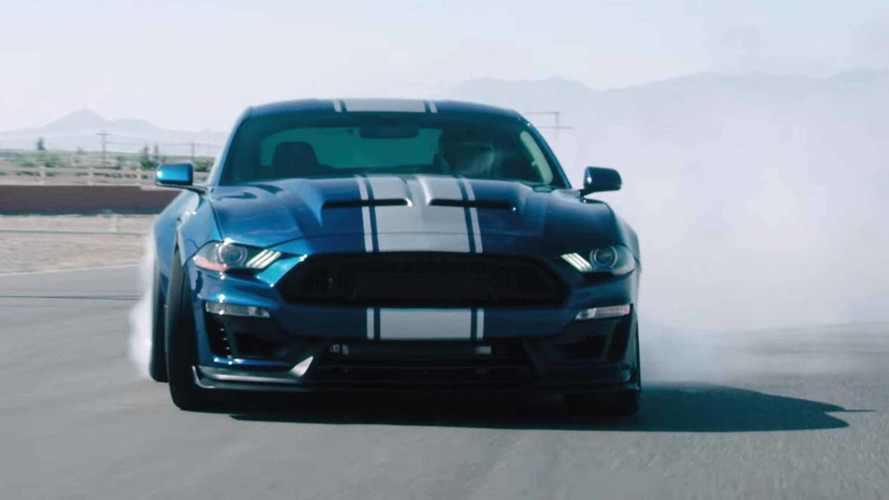 Updated, 800-HP Shelby Super Snake Hits The Track In New Promo