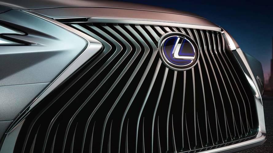 2019 Lexus ES teaser'ları LS modelinden izler taşıyor