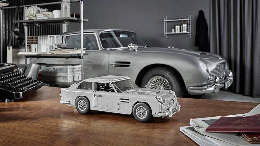 Lego James Bond Aston Martin DB5 kiti ortaya çıktı