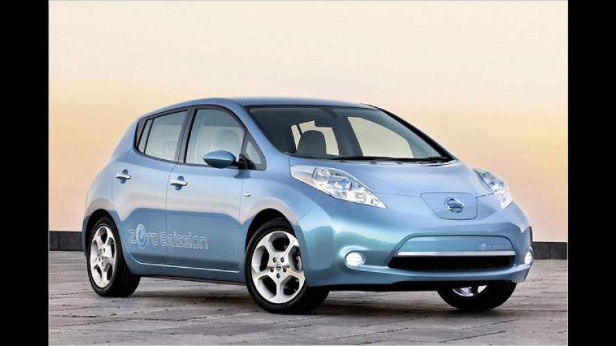 Nissan Leaf: Die Preise