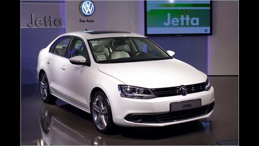 Europaversion des VW Jetta vorgestellt