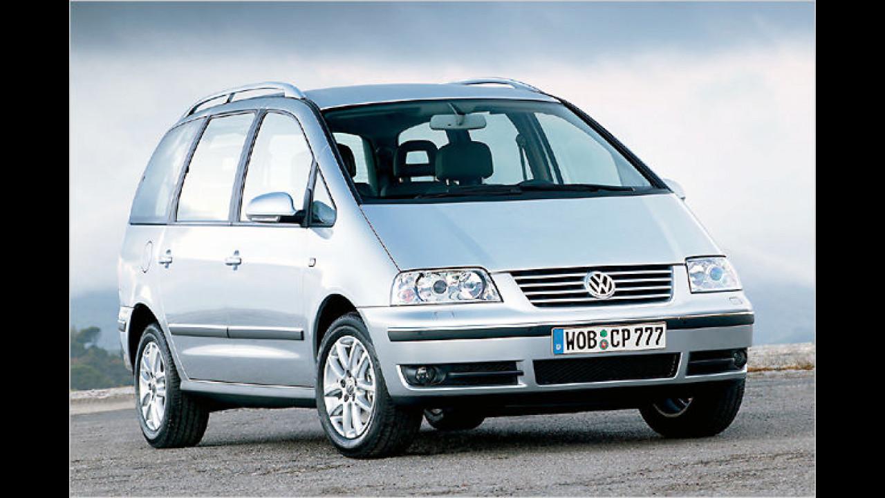 VW Sharan BlueMotion Trendline