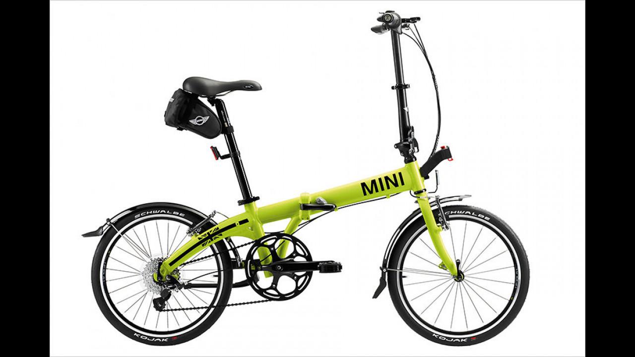 Mini Folding Bike Lime