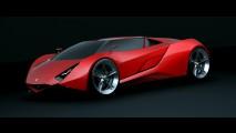 Invisium Ferrari Concept by Paweł Czyżewski