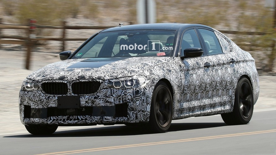 2018 BMW M5: New Details Reveal 8-Speed Auto, 600+ HP