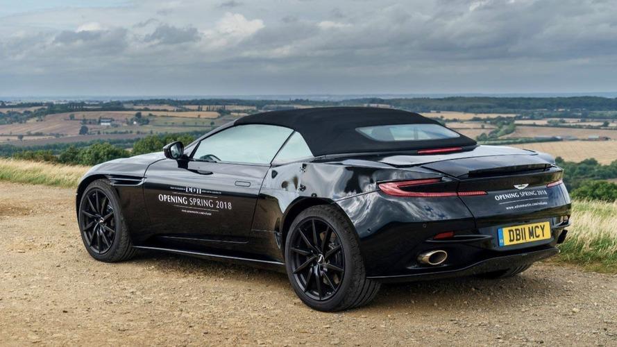 Aston Martin DB11 Volante - Ouverture au printemps prochain