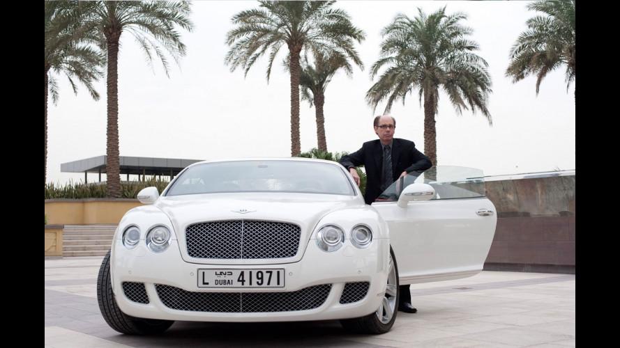 La Bentley Continental GT è la nuova auto di James Bond