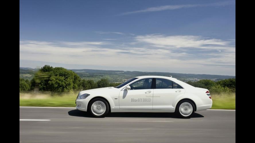 Premiata la batteria al litio della Mercedes S400 BlueHYBRID