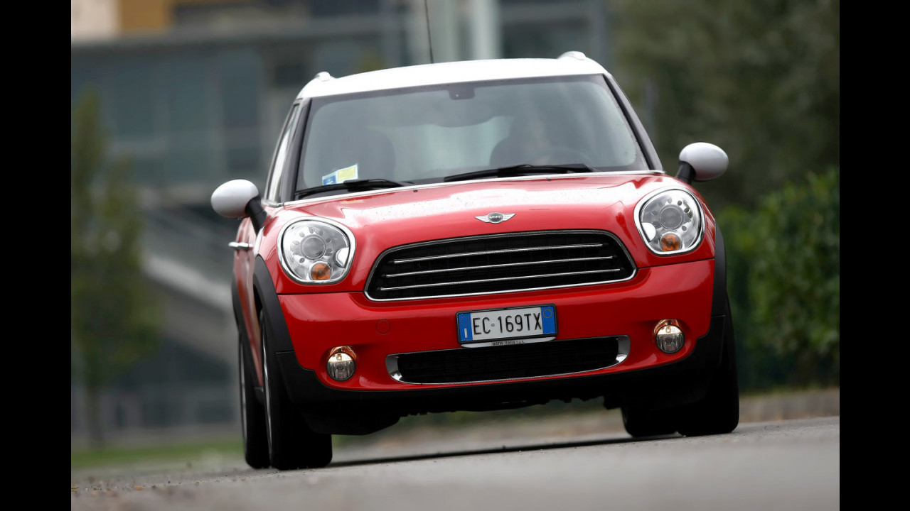 MINI Countryman Cooper. Il test