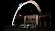 Goodwood Festival of Speed 2014, la scultura Mercedes
