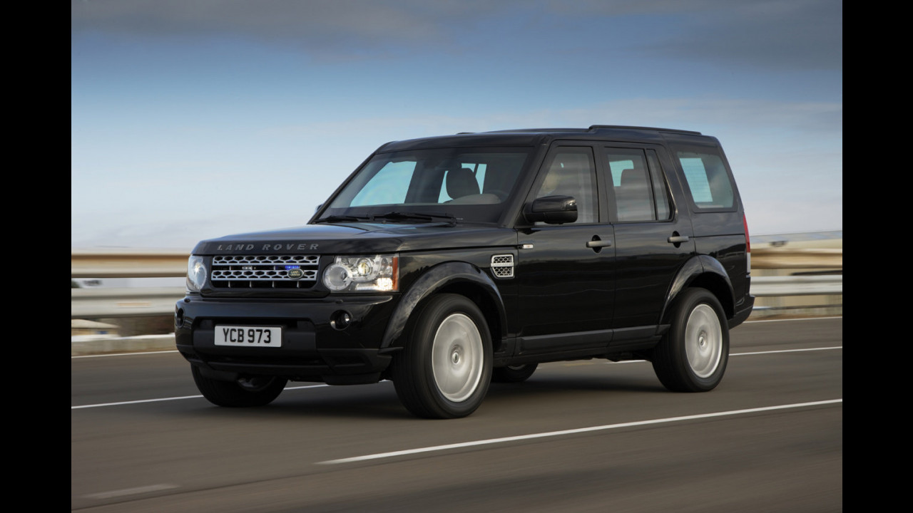 Land Rover Discovery 4 blindata