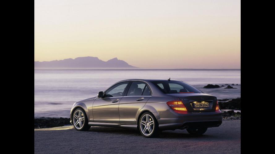 Mercedes Classe C: consegnati 500.000 esemplari