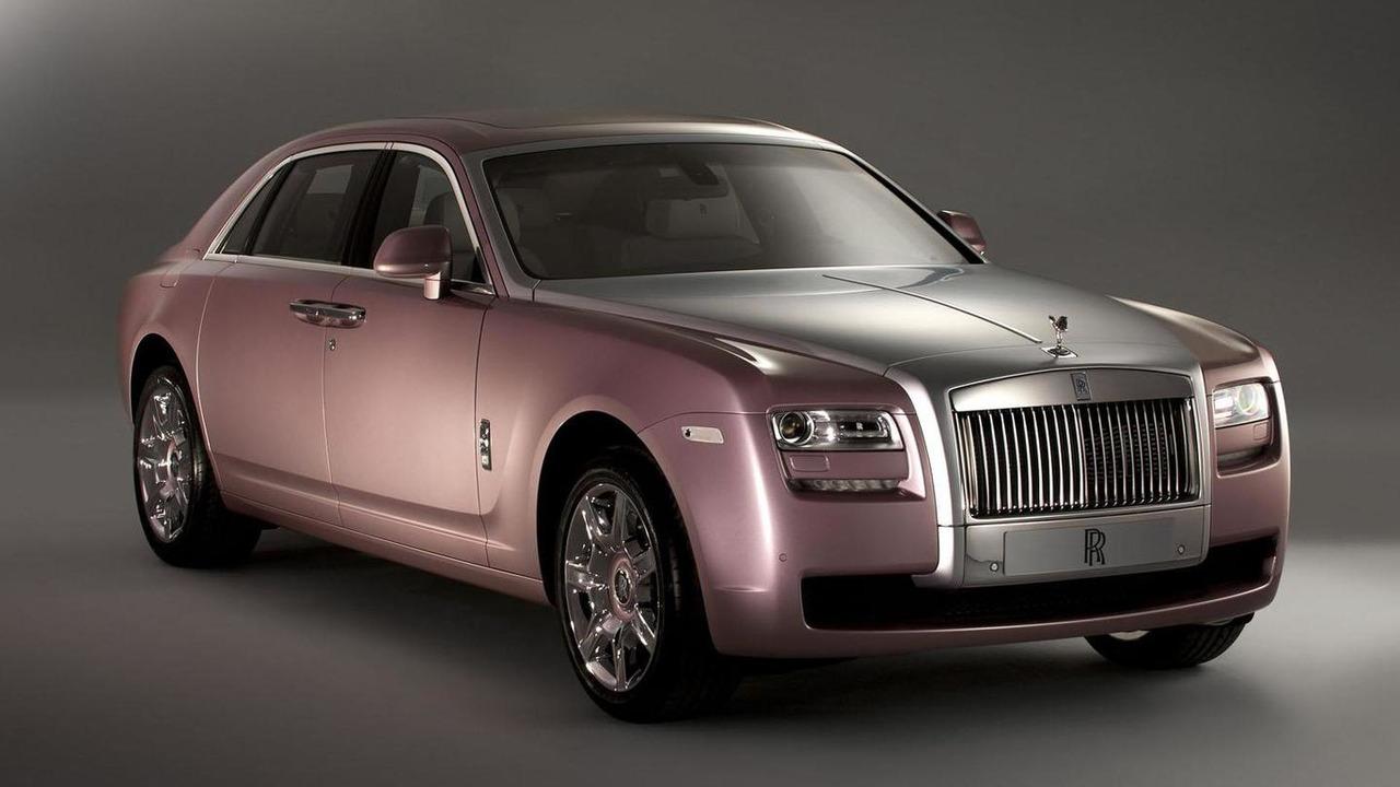 Rolls-Royce Ghost in Rose Quartz 25.1.2012