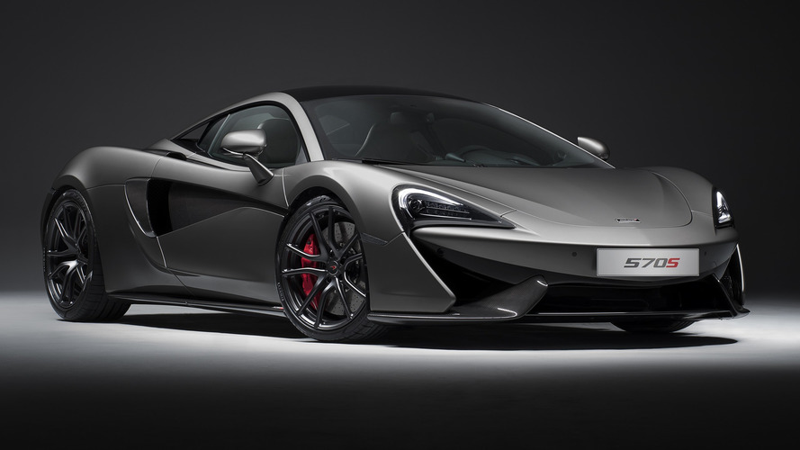 Track Pack'li McLaren 570S Coupe