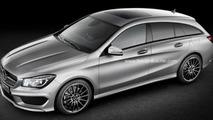 Mercedes-Benz CLA Shooting Brake coming in 2015 - report