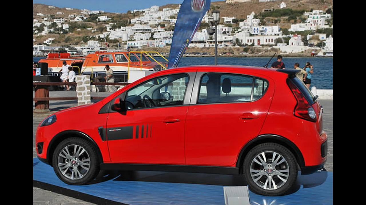 """Fotos: Novo Palio 2012 é """"apresentado"""" na Grécia - Veja tudo sobre o modelo"""