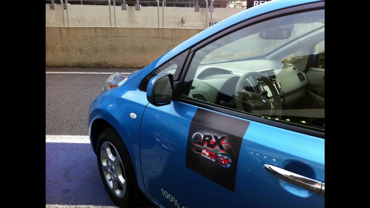 Impressões ao dirigir: Aceleramos o 100% elétrico Nissan LEAF em Interlagos a 150 km/h