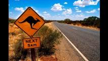 Austrália terá 192 km de estradas sem limite de velocidade