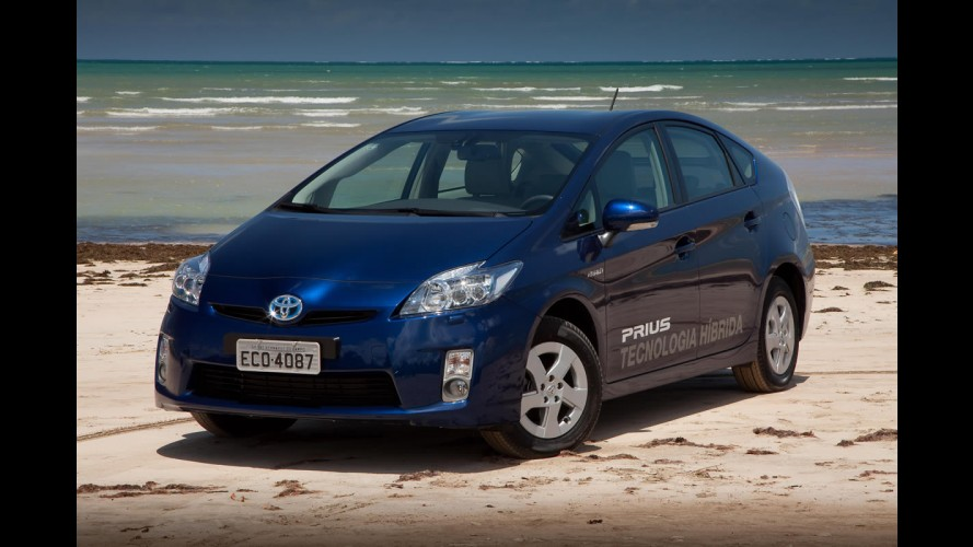 Toyota Prius começa a ser vendido no Brasil por R$ 120.830