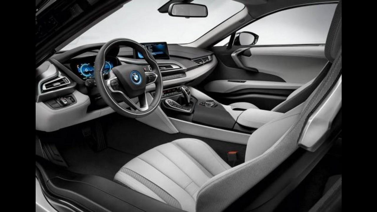 BMW i8: veja as primeiras fotos da versão de produção