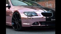 Preparadora faz BMW Série 6 especial para atriz de filmes adultos