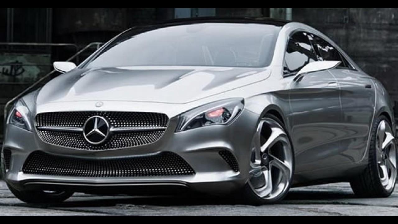 Mercedes Concept Style Coupé tem imagens oficiais divulgadas