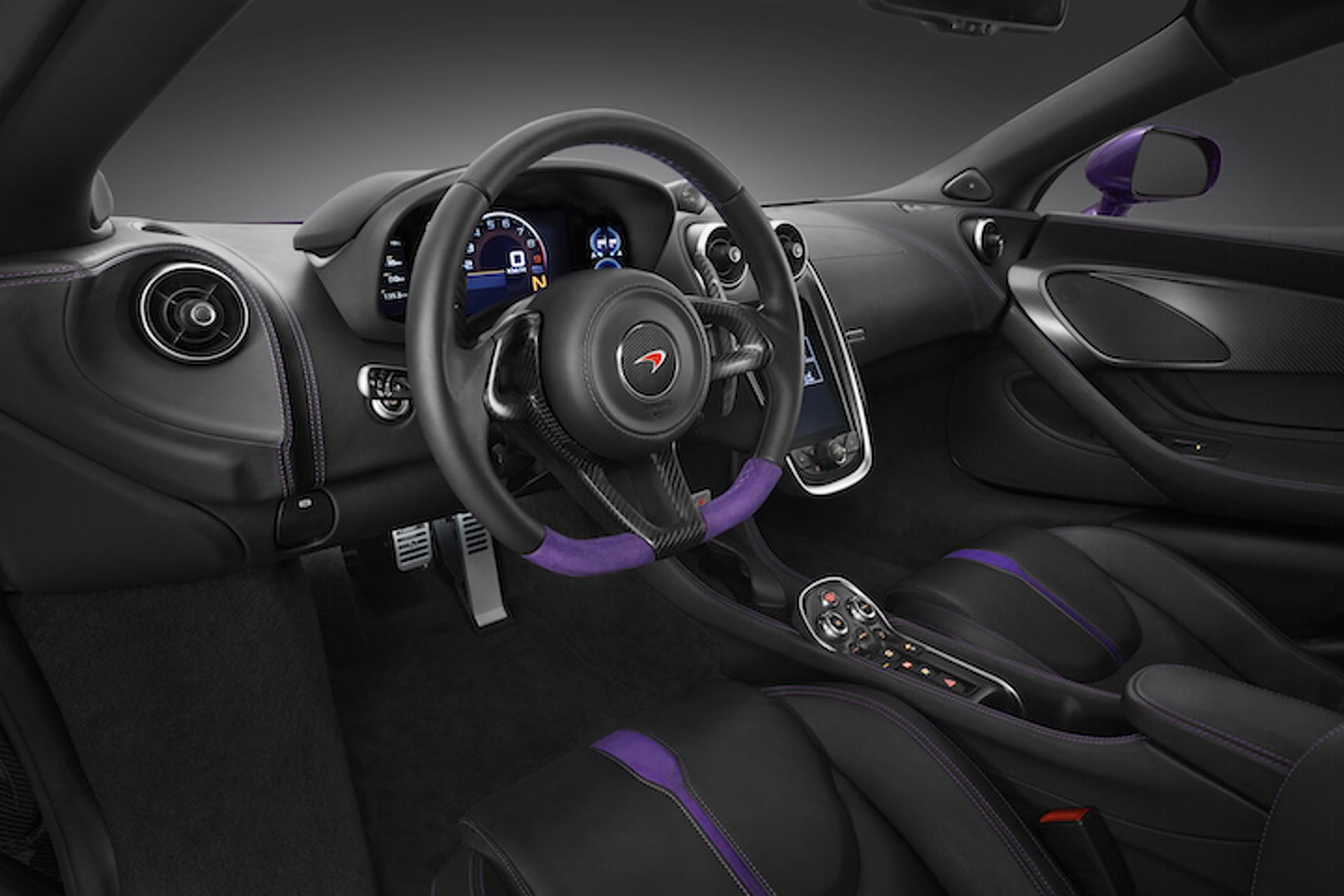 Pretty in Purple: McLaren Readies One-Off 570S For Pebble Beach