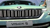 Skoda VisionS Concept live in Geneva