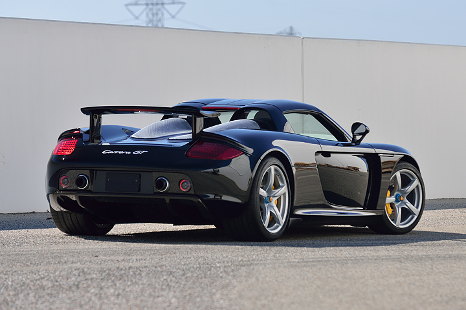 This Porsche Carrera GT Only Has 152 Miles to its Name