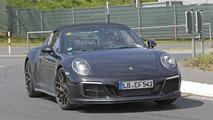 2017 Porsche 911 Targa GTS spy photos