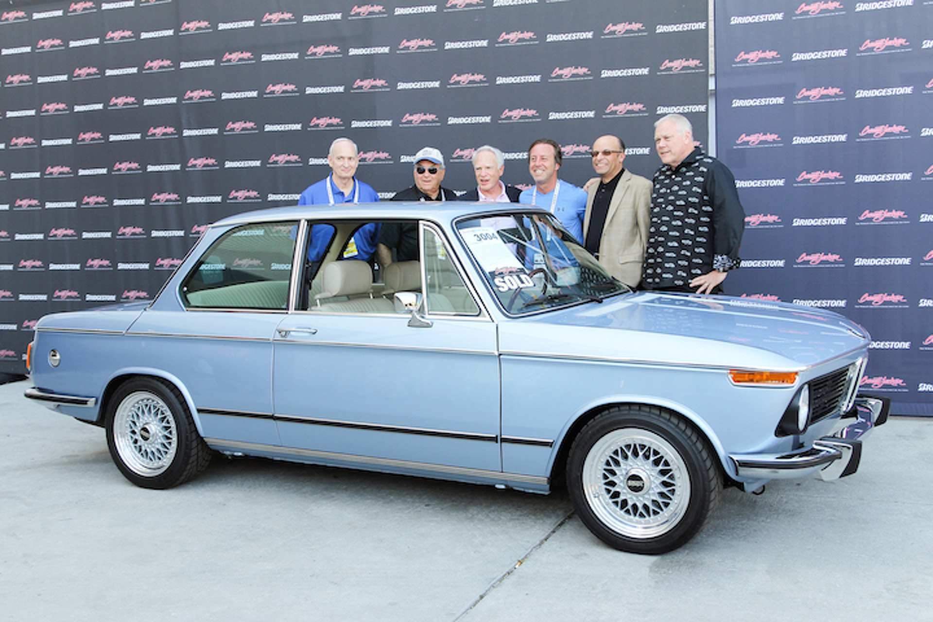 Clarion Builds BMW 2002 Raises $125,000 For Charity