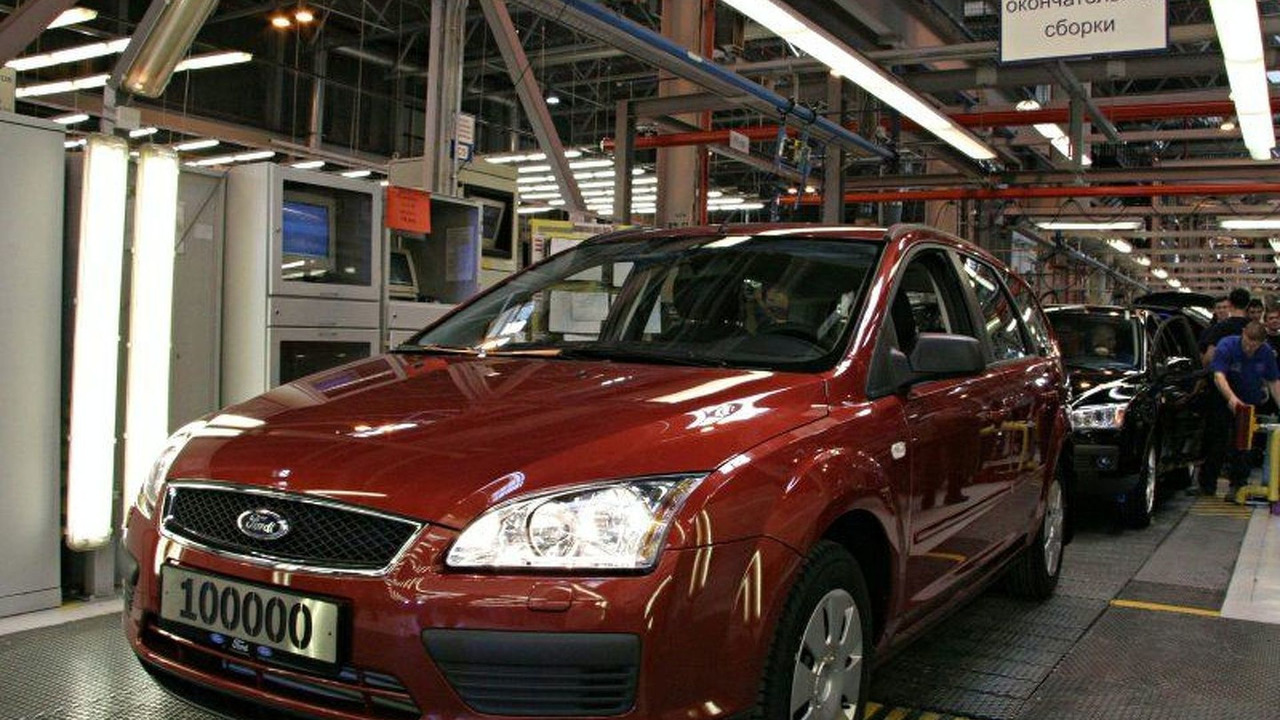 100.000th Ford Focus Produced in Russia