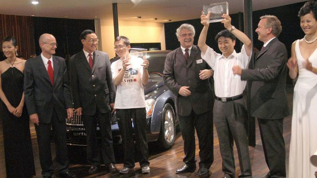 Maybach Debuts in Mainland China