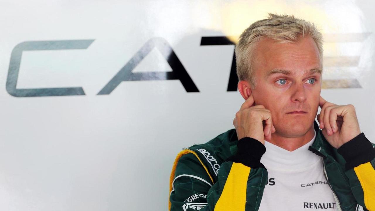 Heikki Kovalainen, Caterham F1 Team Reserve Driver.