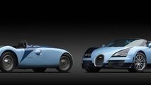 Bugatti Veyron Grand Sport Vitesse Jean-Pierre Wimille Edition