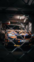 BMW X2 urban camouflage teaser