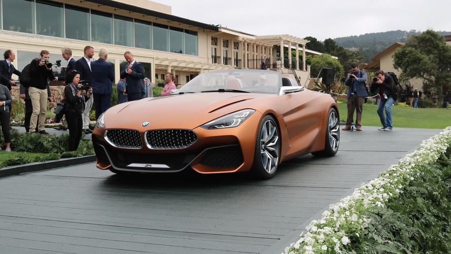 BMW Z4 Concept 2018: más dinámico y muy cercano a la producción