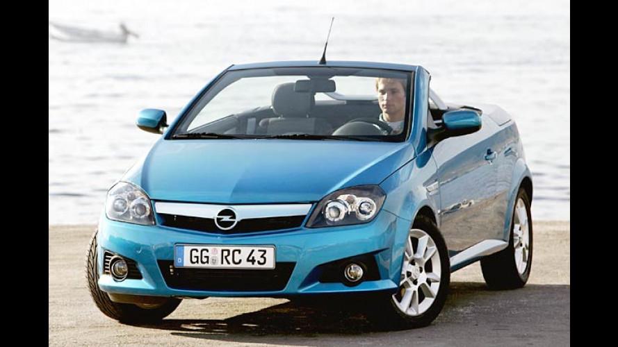 Opel Tigra TwinTop: Jetzt ab 16.695 Euro bestellbar