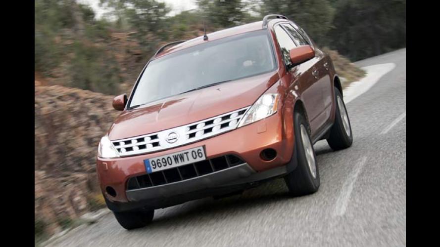 Nissan Murano: Vornehmer Allrad-Gigant im Test