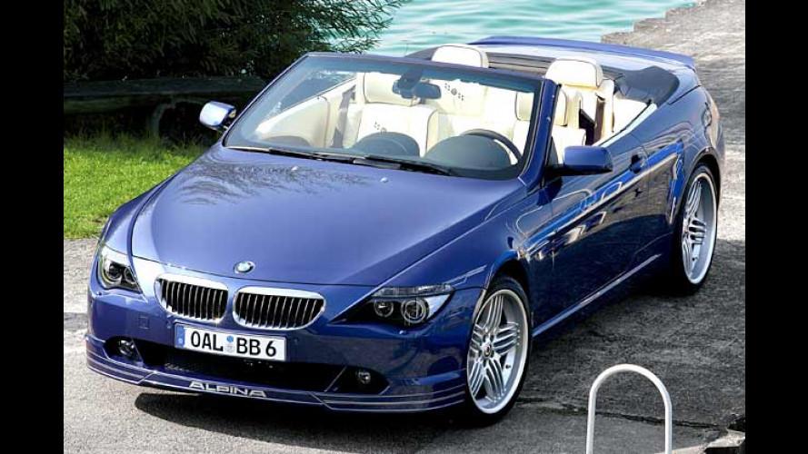 Alpina B6: Mit 500 PS im Luxus-Cabrio der Sonne entgegen