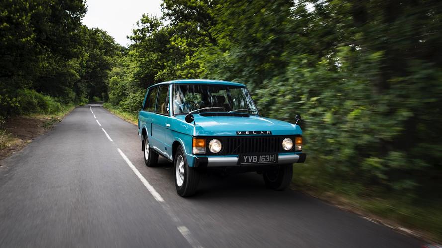 El Range Rover Velar de 1969, a prueba