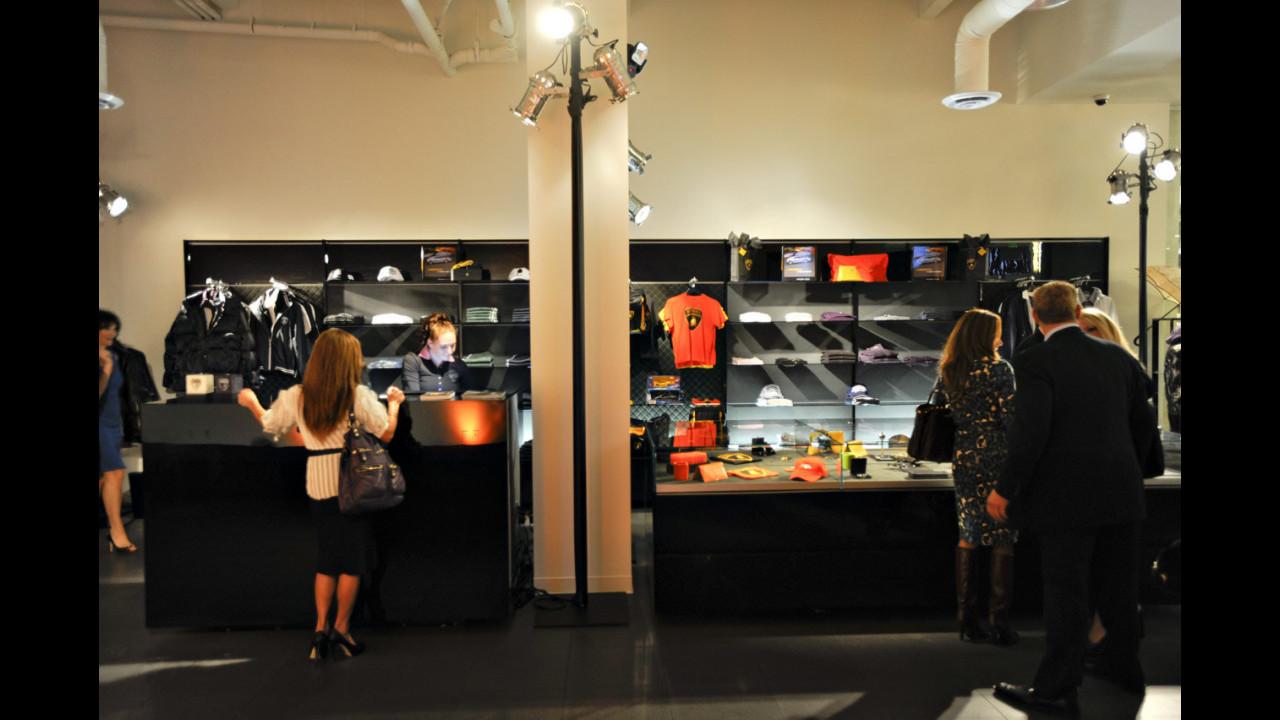 La nuova boutique Lamborghini a Los Angeles