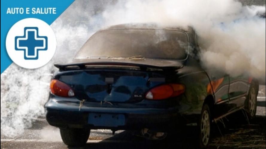 Fumo in auto, fra suicidio e omicidio