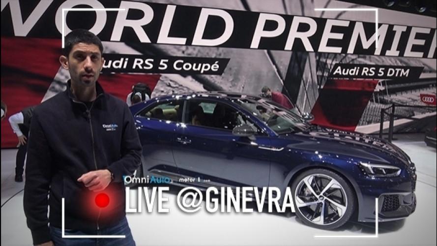 Salone di Ginevra, nuova Audi RS 5 cattiva ed elegante [VIDEO]